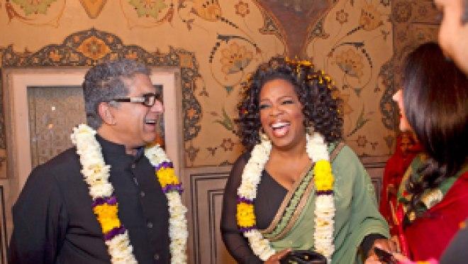 Deepak and Oprah